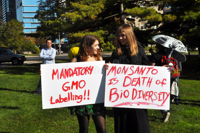 Download March Against Monsanto, Toronto Editorial Photo - Image: 34355406