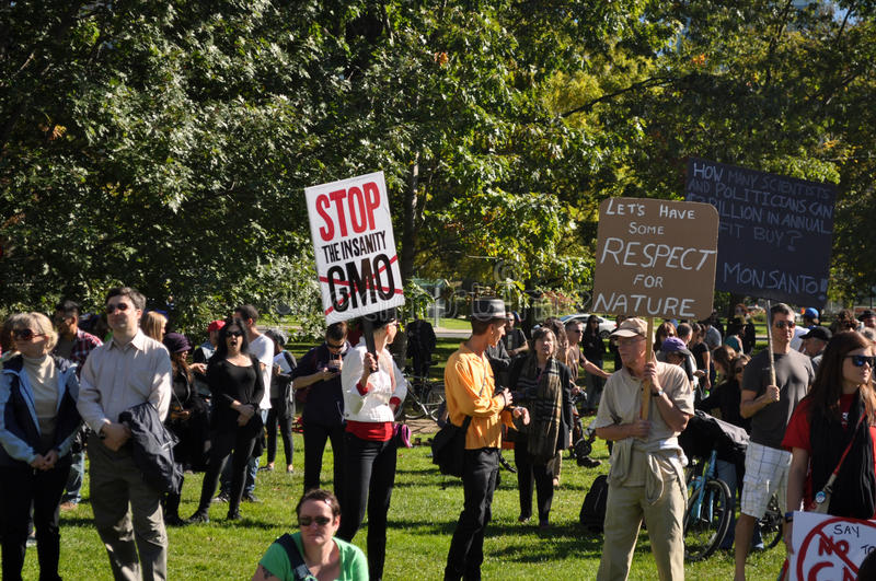 Download March Against Monsanto, Toronto Editorial Photo - Image: 34355871