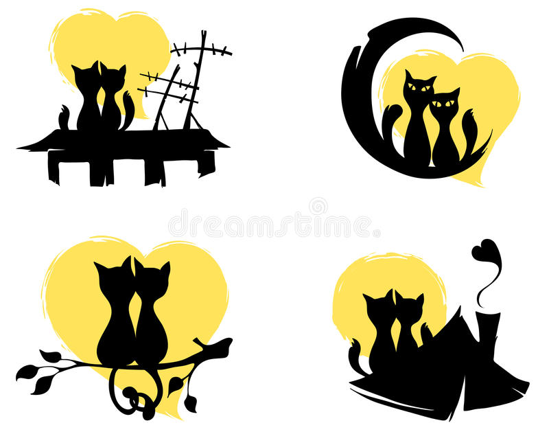 Download March cats stock vector. Illustration of march, feline - 23918560