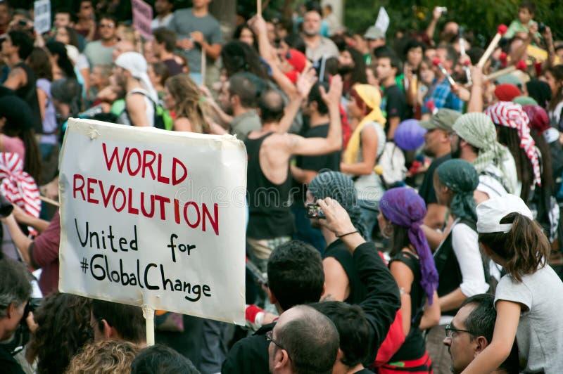 March de protestation image stock