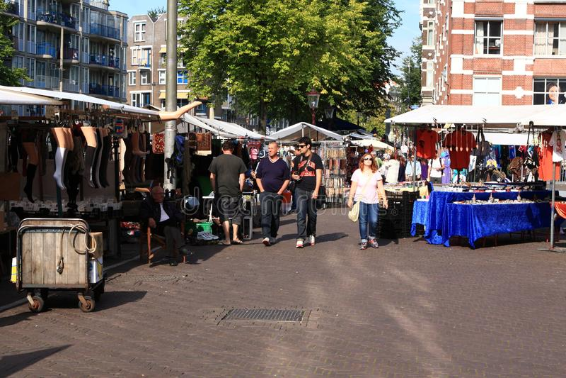 March? en plein air d'Amsterdam images stock