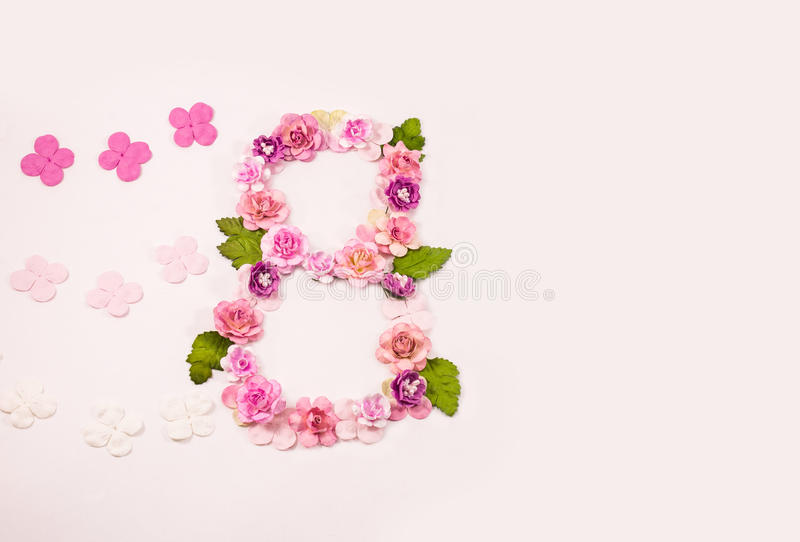 March 8 - International Women's Day royalty free stock image