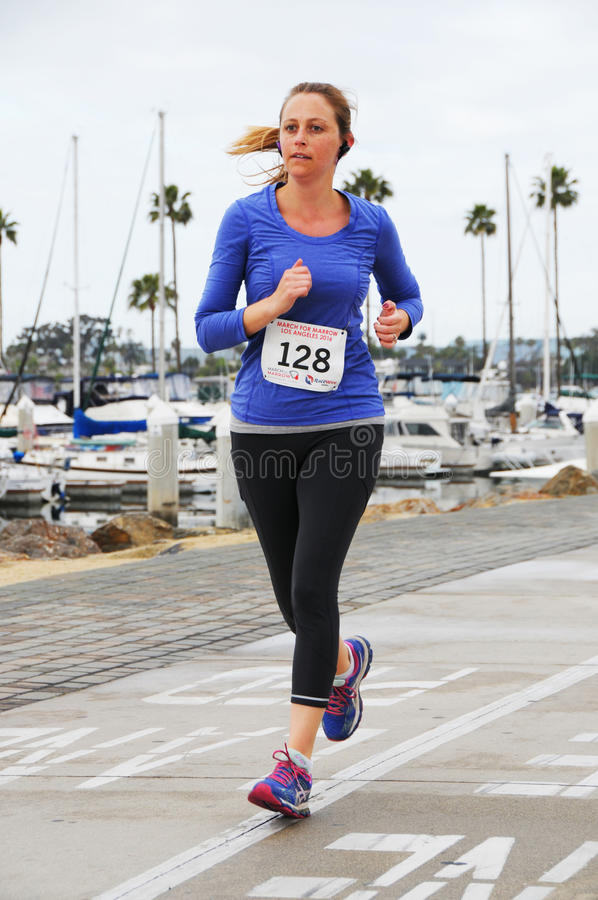 March for Marrow 5k stock image