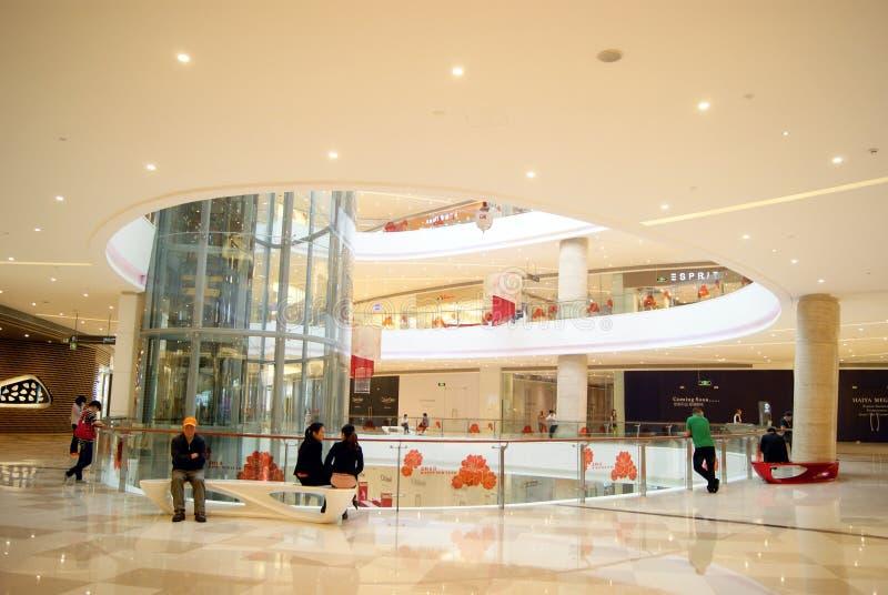 Shenzhen China: Haiya Binfen City Shopping Plaza Editorial Photography