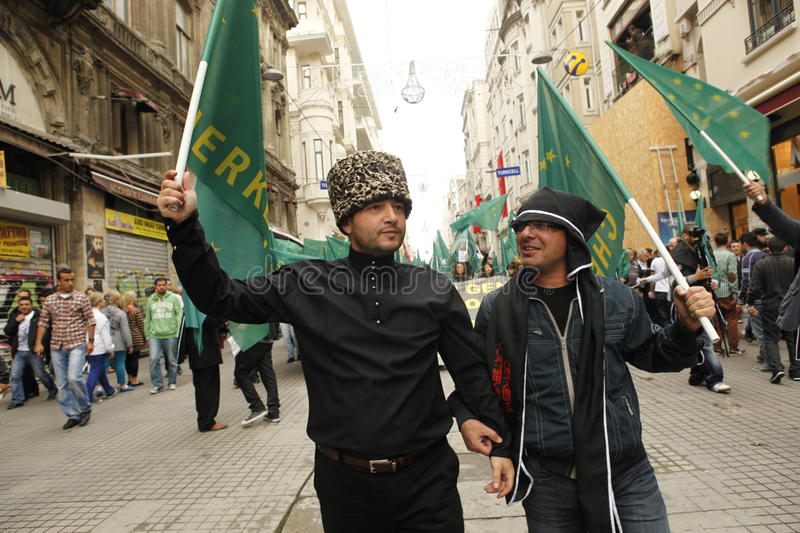 Download March To Protest Circassian Genocide Editorial Photo - Image: 25056301