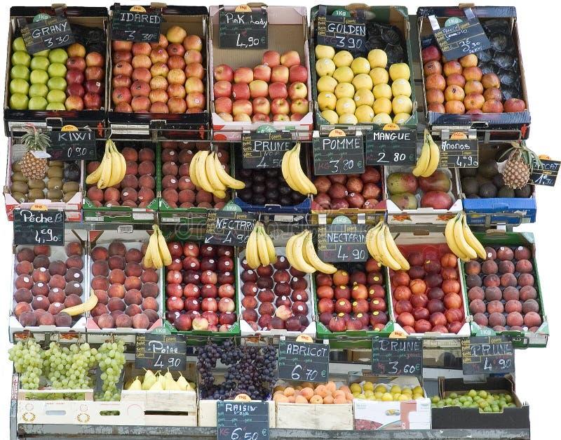 Marchand de légumes photographie stock libre de droits