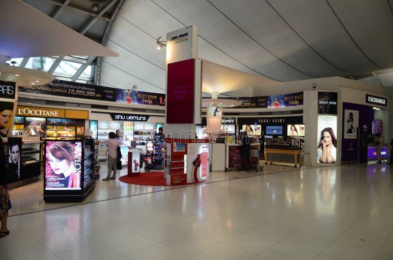 Marchandises hors taxe d'aéroport images stock