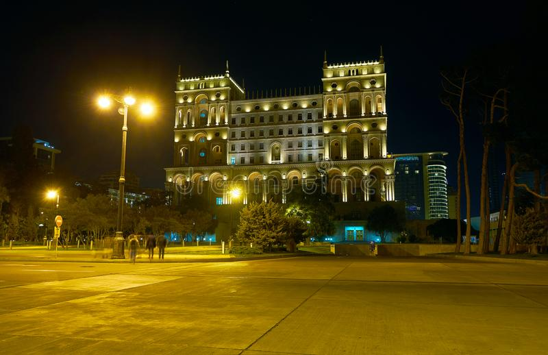 Marche à Bakou images stock