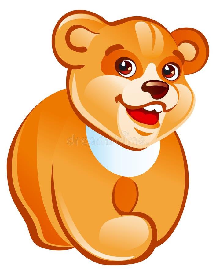 Marche d'ours de nounours illustration libre de droits