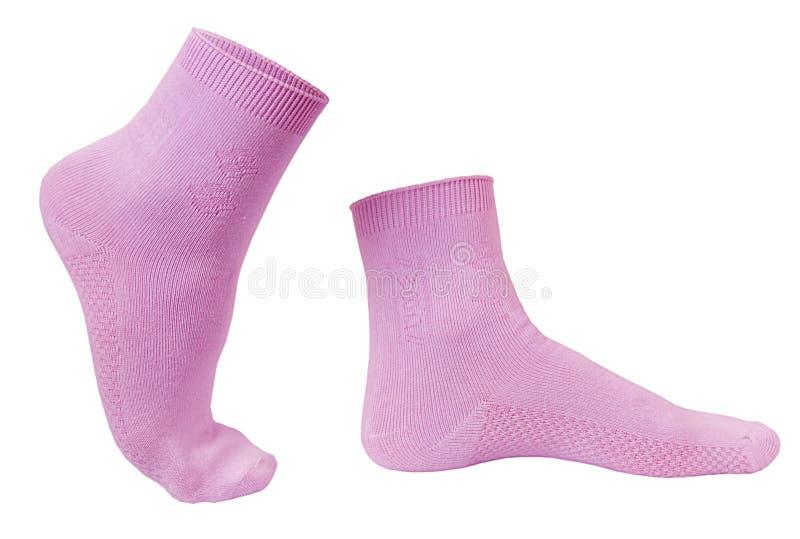 marche de chaussettes photos libres de droits