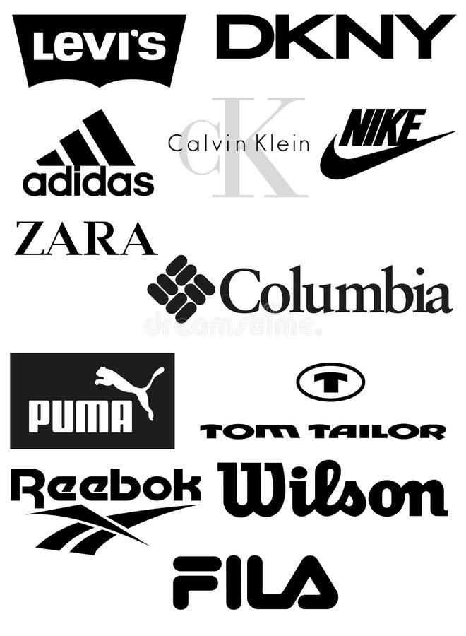 Marche dell'abbigliamento