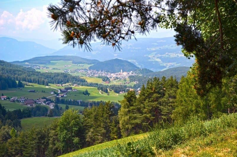 Marche en Trentino Alto Adige photographie stock