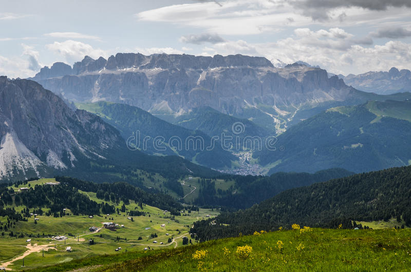 Marche en Trentino Alto Adige - l'Italie images stock