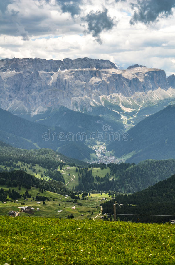 Marche en Trentino Alto Adige - l'Italie images libres de droits