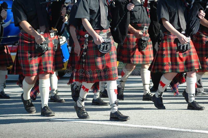 Marcherende parade stock fotografie