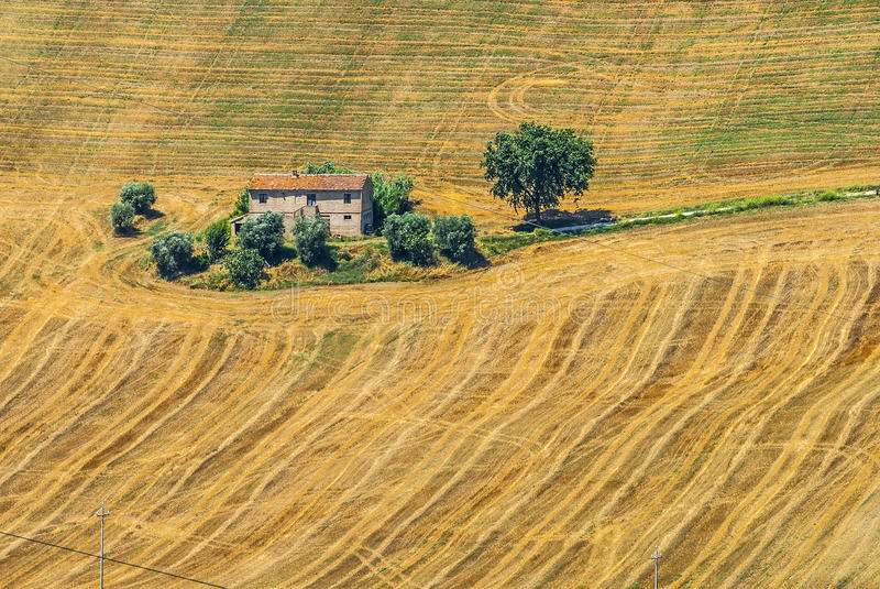 Marches (Italy) - Landscape Stock Photo