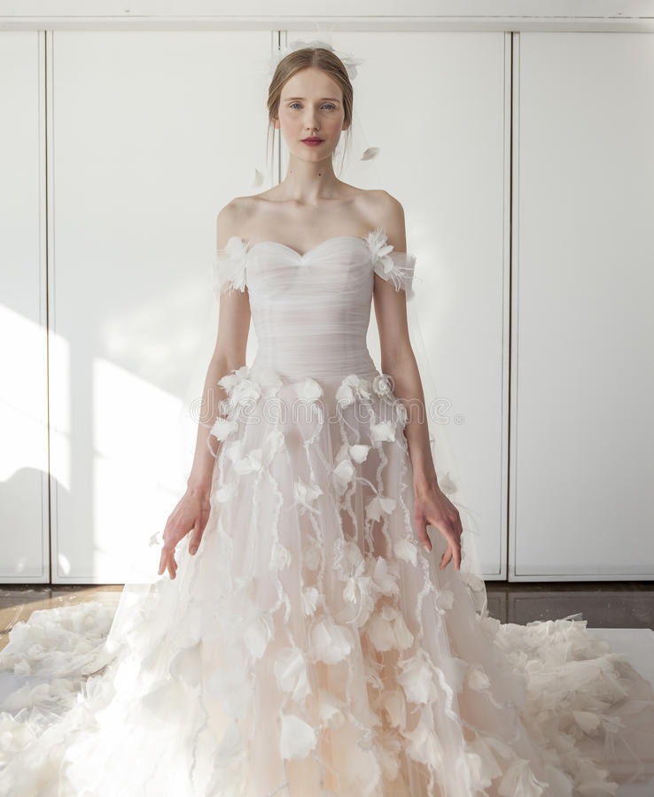 Marchesa Wedding Gown: Marchesa Bridal SS 2017 Editorial Photography. Image Of