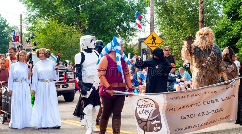 Marcheurs de Star Wars images libres de droits