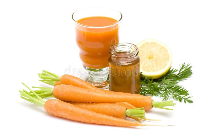marchewek szklana miodowa soku cytryna obrazy royalty free