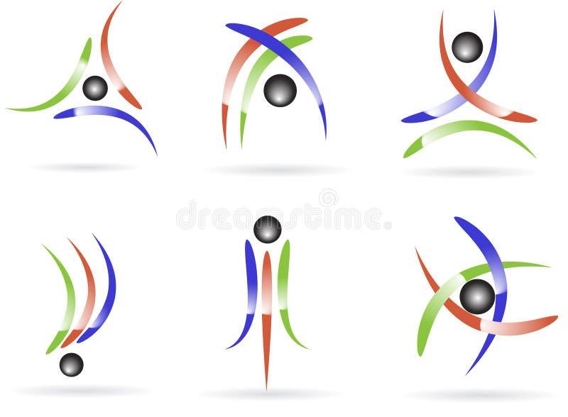 Marchi illustrazione vettoriale