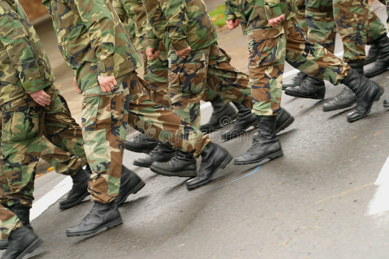 Download Marching Stock Image - Image: 324281