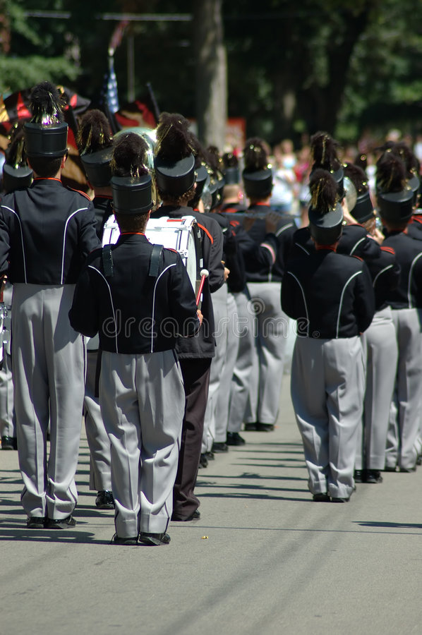 Download Marching Band stock image. Image of events, college, boys - 163443