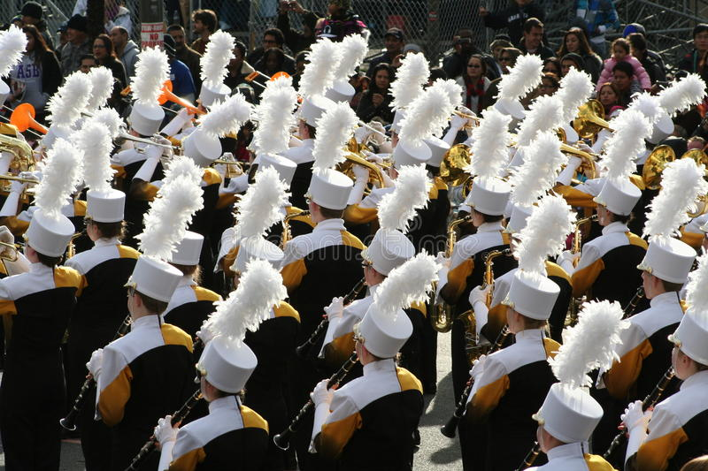 Download Marching Band editorial stock image. Image of saxophone - 28425389