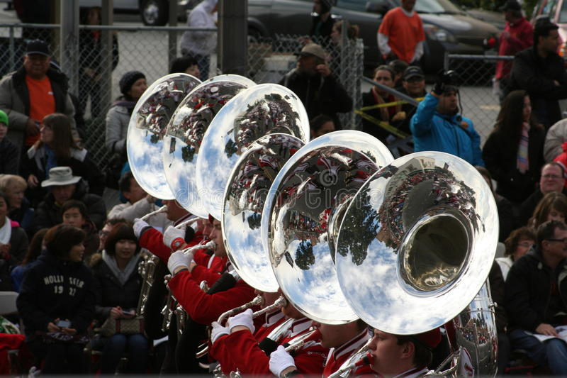 Download Marching Band editorial stock photo. Image of person - 28425423