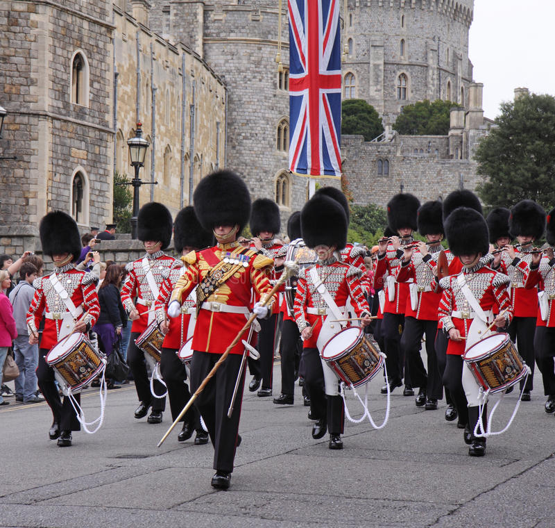 Download Marching Band Of The Grenadier Guards Editorial Photo - Image of band, medals: 21615346