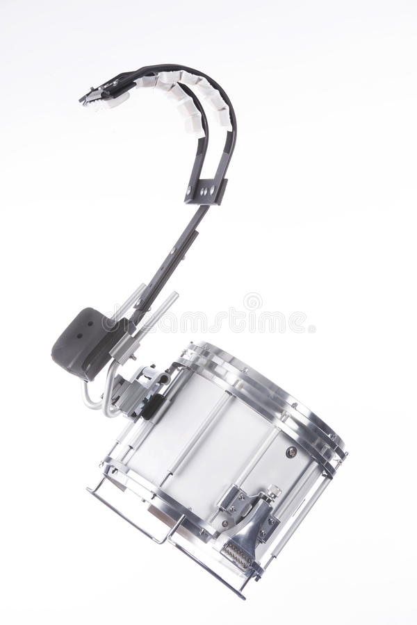 Free Marching Field Snare Drum On White Stock Images - 12344184