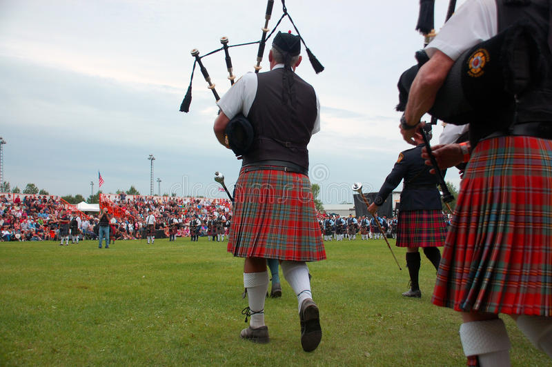 Download Marching on to the field editorial stock photo. Image of fergus - 10554333