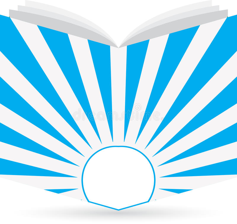Marchio del libro illustrazione di stock