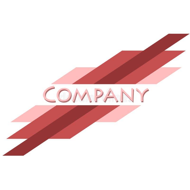 Marchio dell'azienda illustrazione di stock