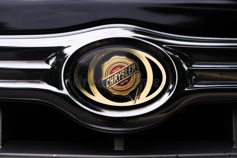 Marchio della Chrysler fotografia stock libera da diritti