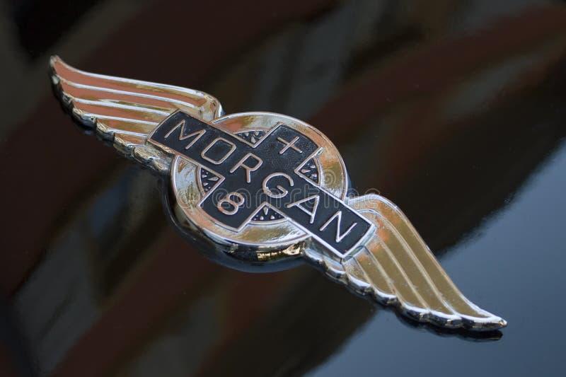 Marchio delle automobili del Morgan fotografia stock libera da diritti