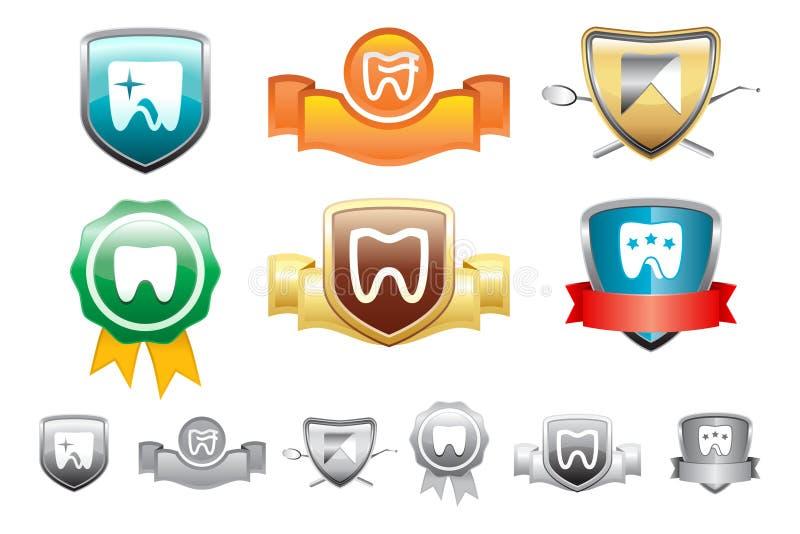 marchio dentale immagini stock