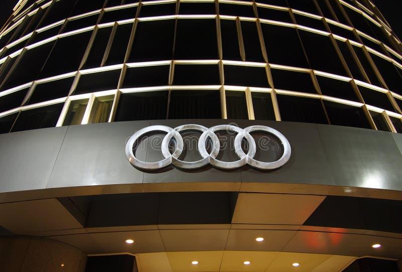Marchio di Audi immagine stock libera da diritti