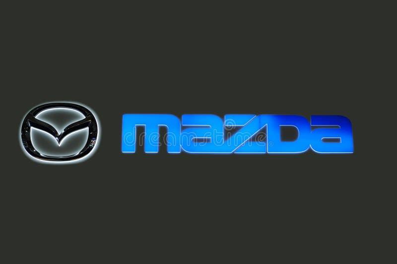 Marchio di Mazda fotografia stock