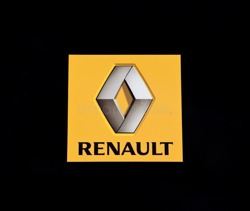 Marchio di Renault fotografia stock