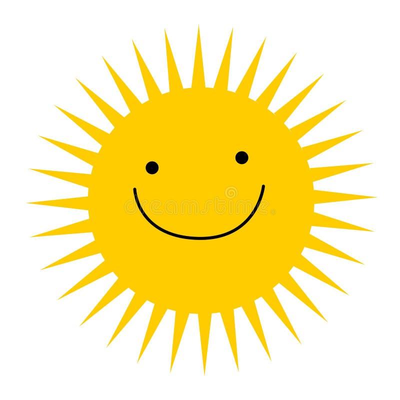 Marchio di Sun illustrazione di stock