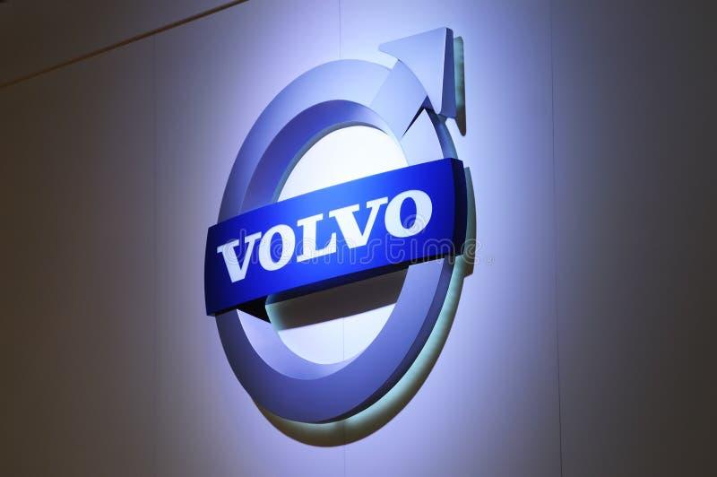 Marchio di Volvo fotografia stock