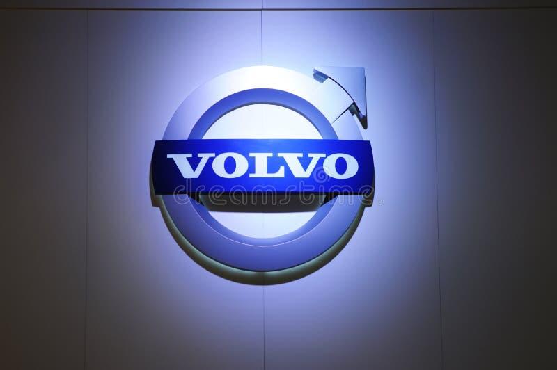Marchio di Volvo immagine stock libera da diritti