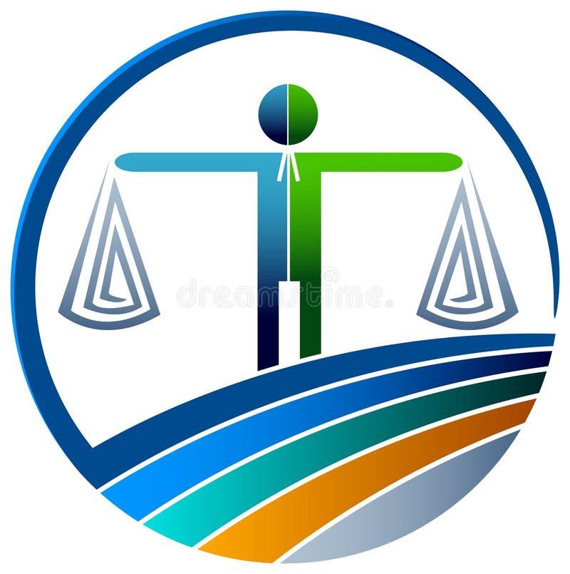 Marchio legale illustrazione di stock