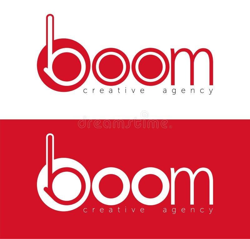 marchio Logo creativo di vettore Vettore astratto di colore simbolo di progettazione illustrazione di stock