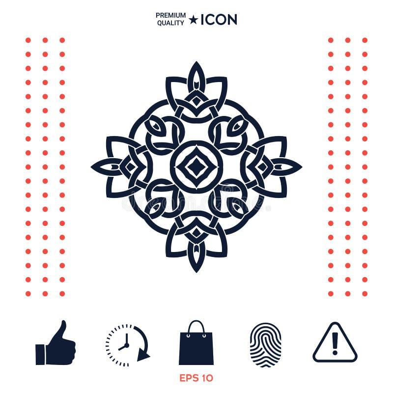 Download Marchio Modello Arabo Orientale Geometrico Elemento Per Il Vostro Disegno Illustrazione Vettoriale - Illustrazione di golfo, marchio: 117975815