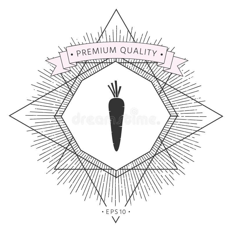 Marchwiana symbol ikona royalty ilustracja