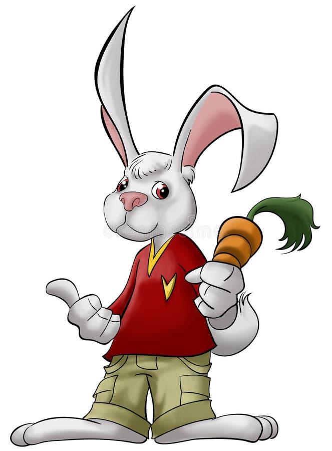 marchwiany królik royalty ilustracja