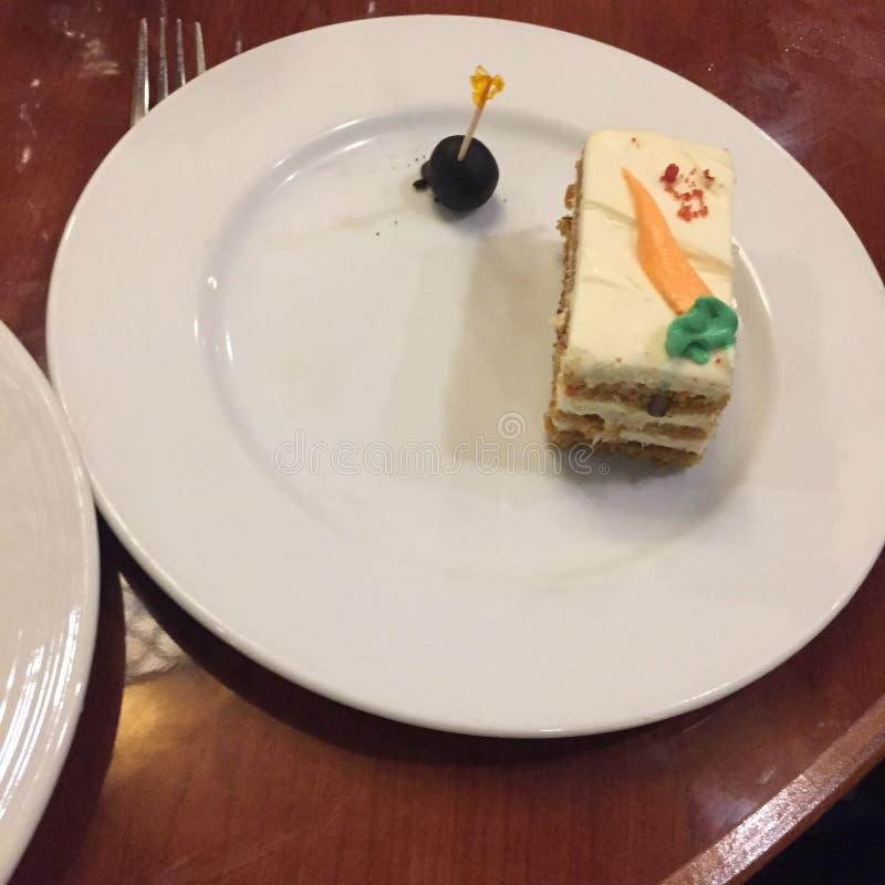 Marchwiany tort zdjęcia royalty free