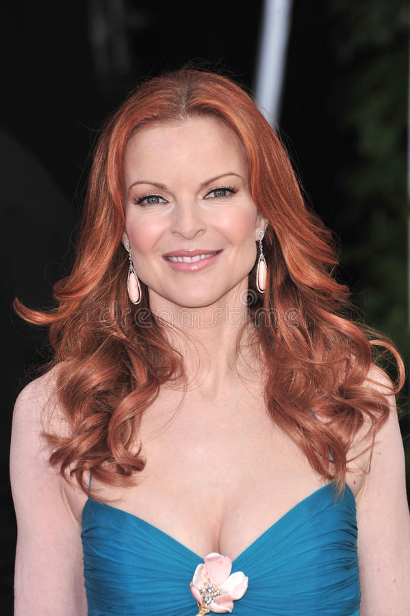 Download Marcia Cross redaktionelles stockfoto. Bild von januar - 26360303