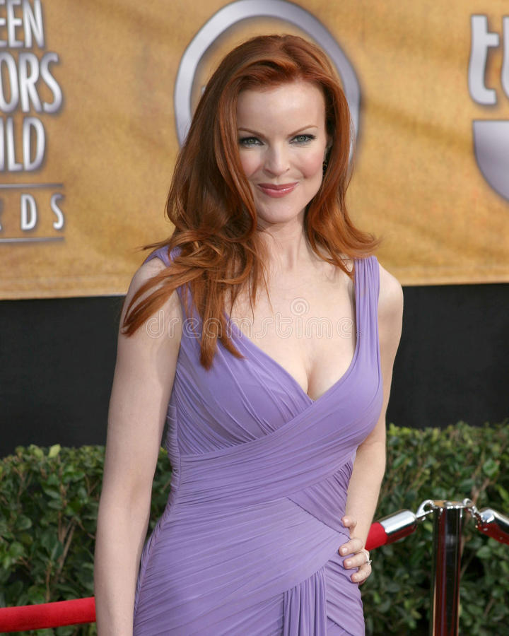 Marcia Cross photographie stock